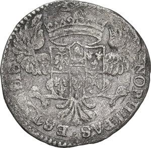 Modena.  Alfonso IV D Este (1658-1662).. Mezza Lira 1661
