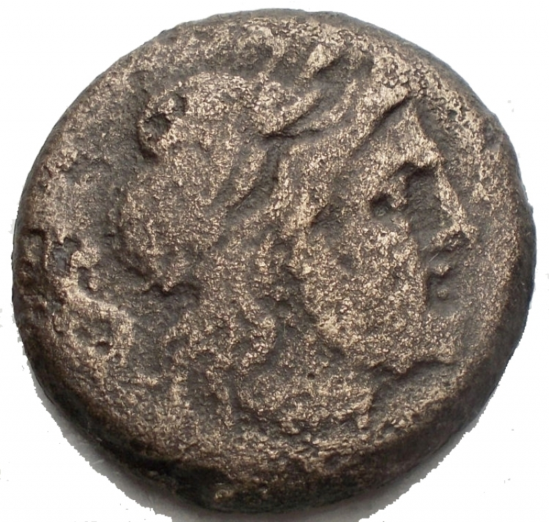 obverse: Repubblica Romana - Anonymous (Victory and LFP series), Semis, Rome, 189-180 BC; AE (g 15,07; mm 25,33); Laureate head of Saturn r.; behind, S, Rv. Prow r.; above, Victory with wreath and LFP; before, S; below, ROMA. Crawford 144/2; Furia 2; Sydenham 300 Extremely rare. Fine
