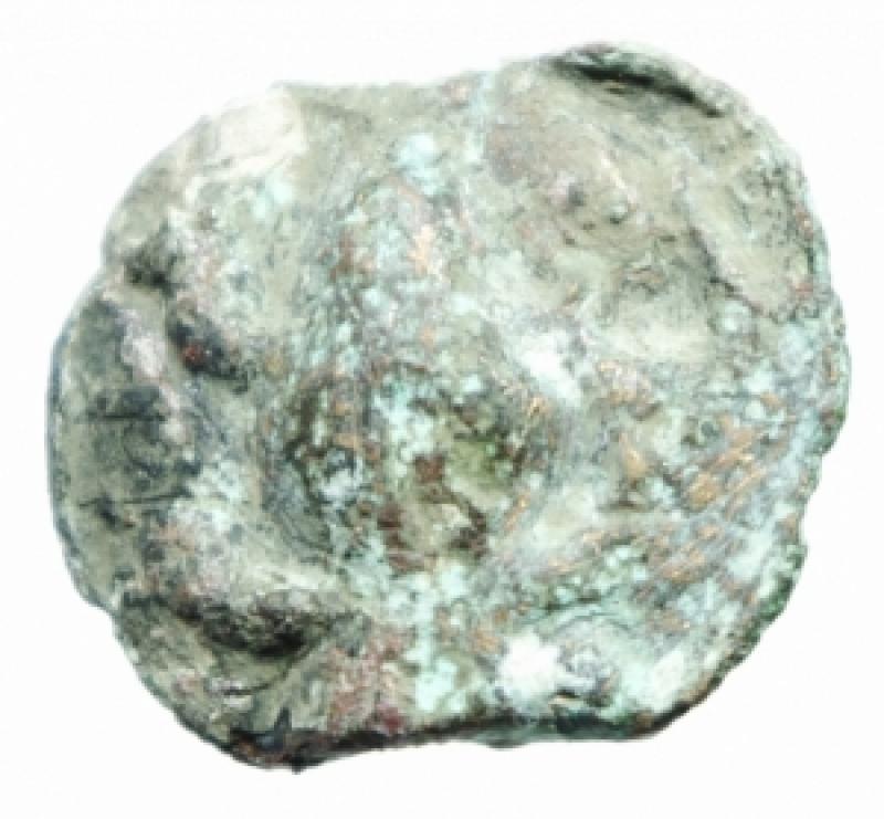 reverse: Mondo Greco. Apulia. Luceria. ca 220 a.C. Oncia. AE. D/ Rana. R/ Fascio di grano. Sopra un globetto. Sotto L. TV 285. Peso 7,10 gr. Diametro 22,00 mm. BB.