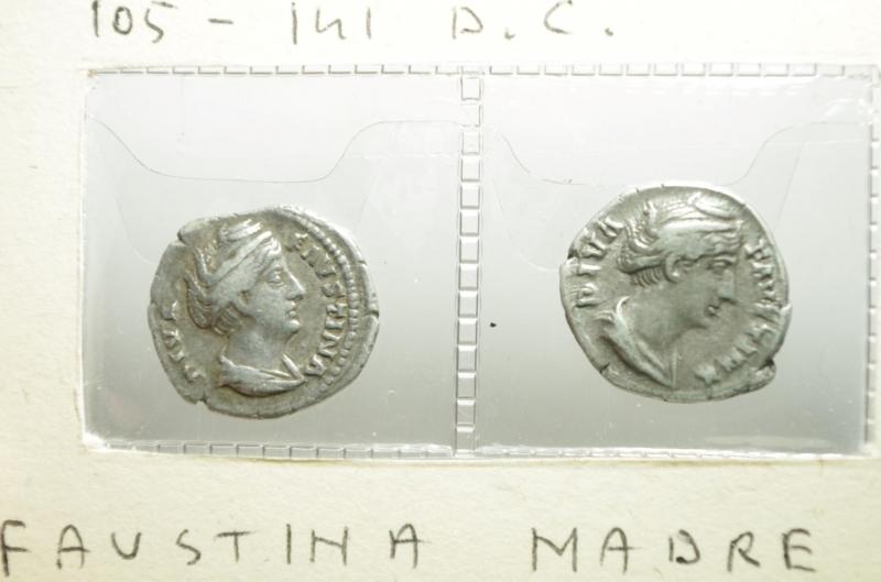 obverse: 2 denari faustina