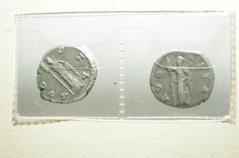 reverse: 2 denari faustina