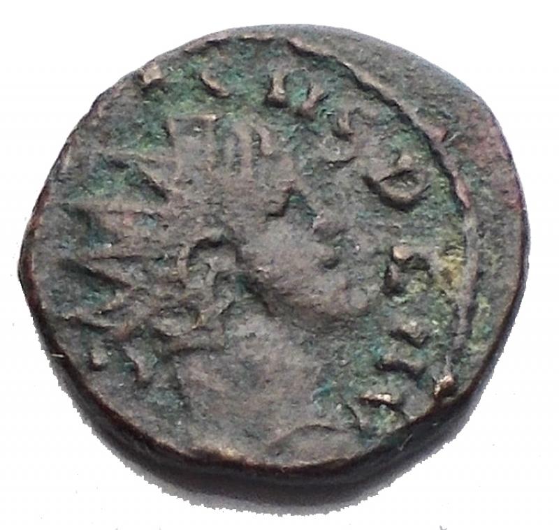 obverse: Impero Romano - Tetricus II (273-274 AD). Nummo ? Ae. gr 0,74. mm 10,8. BB-SPL.§