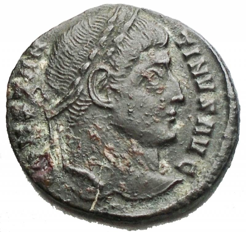 obverse: Impero Romano - Costantino I. 307-337. Ae da catalogare. gr 3,05.
