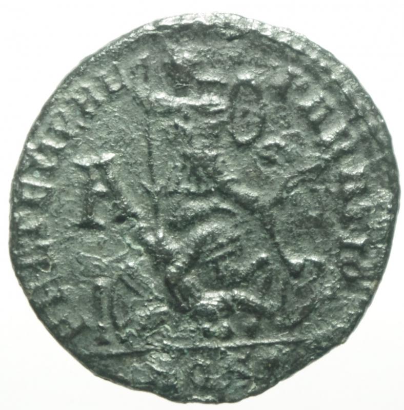 reverse: costanzo II aquileia