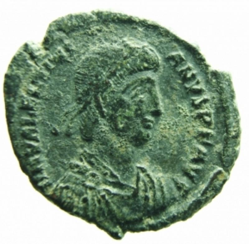obverse: valentiniano II antiochia