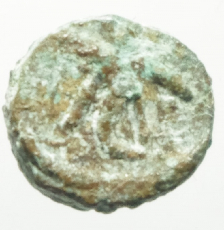 reverse: Monete Barbariche. I Vandali in nord Africa. Guntamundo. 484-496 d.C. Nummus imitativo. AE. D/ Pseudolegenda. Busto a destra. R/ Stella a otto raggi entro corona d alloro. Cfr. M. Ladich, Cr.Num. 17, p.13, n.7. Cfr. BMC p.38,165. Cfr. I. Vecchi, NVMMORVM AVCTIONES, 1145 (Geilamiro). Peso gr. 0,60. Diametro mm. 9.00. qBB. RR