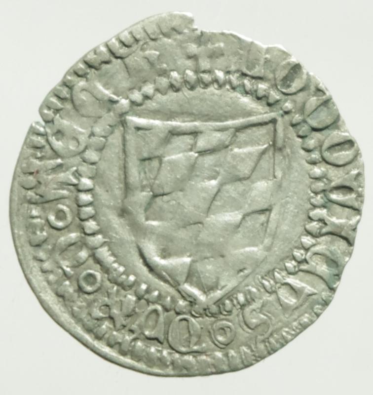 obverse: Zecche Italiane. Aquileia. Ludovico Tech. 1412-1439. Denaro. B. 191. MI.Peso 0,60 gr. qSPL.