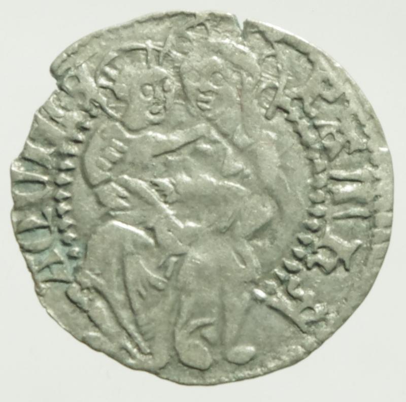 reverse: Zecche Italiane. Aquileia. Ludovico Tech. 1412-1439. Denaro. B. 191. MI.Peso 0,60 gr. qSPL.