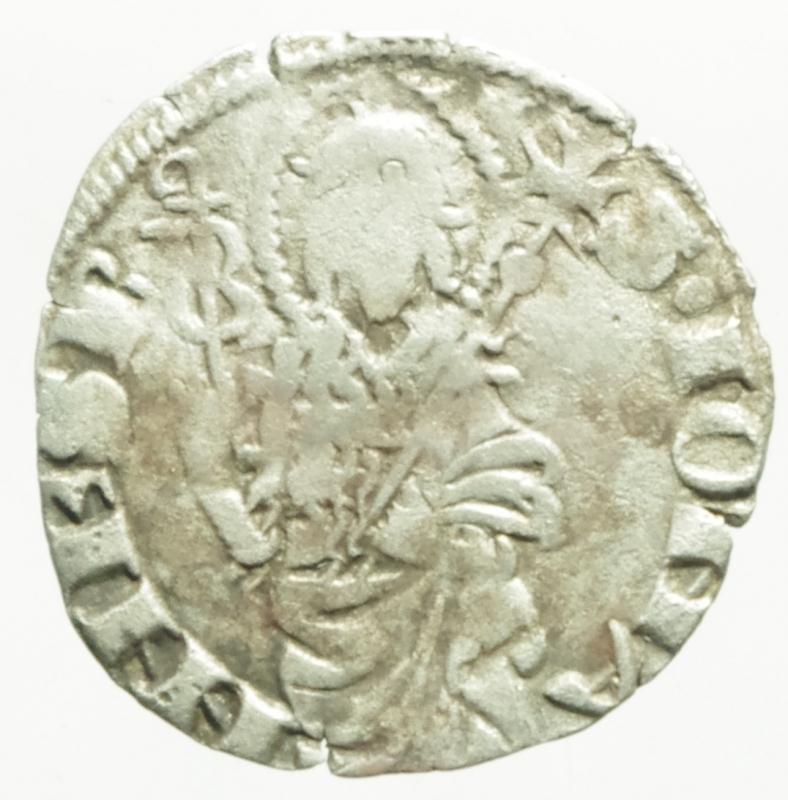 obverse: Zecche Italiane.Firenze repubblica.Quattrino.Ag.Peso 0,80 gr.Diametro 19 mm.BB