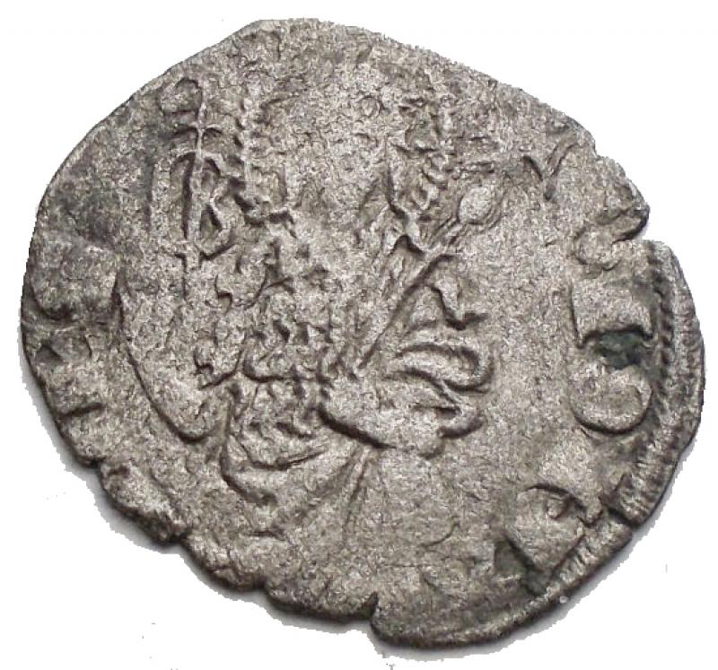 obverse: Zecche Italiane -Firenze.Repubblica.Quattrino III Serie. II Sem 1371 - II Sem 1377. gr 0,71. Lettera B attraversata da pastorale. MI. qBB