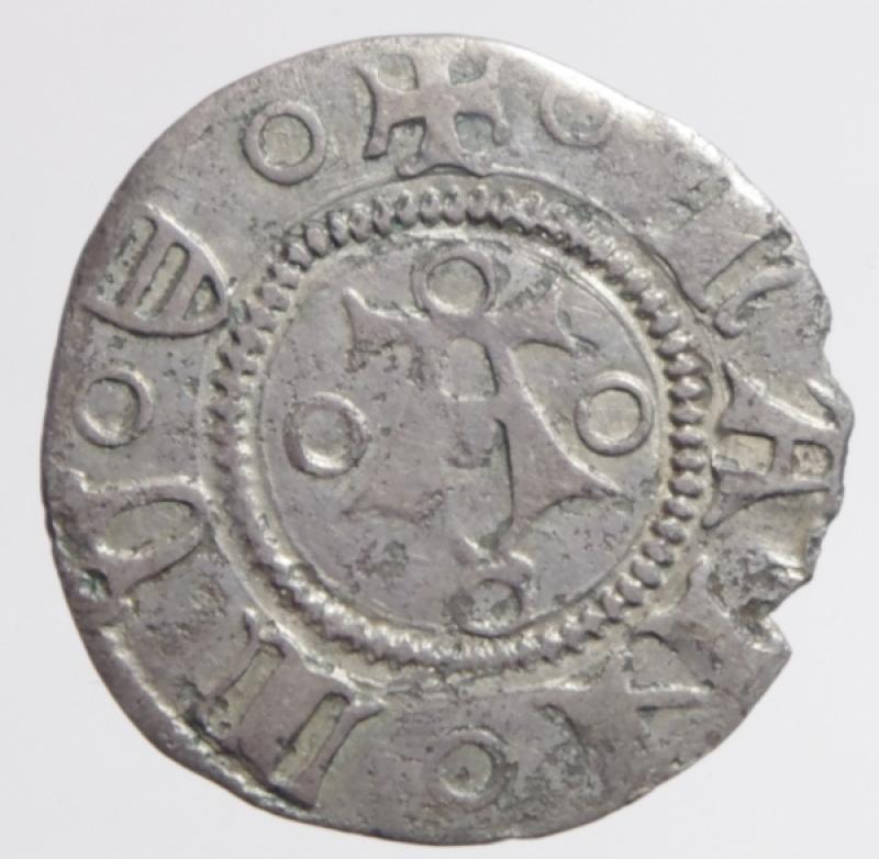 reverse: Mantova. Francesco I Gonzaga (1382-1407). Bolognino AG gr. 1,16. Bignotti 1. MIR 376. Raro. qSPL