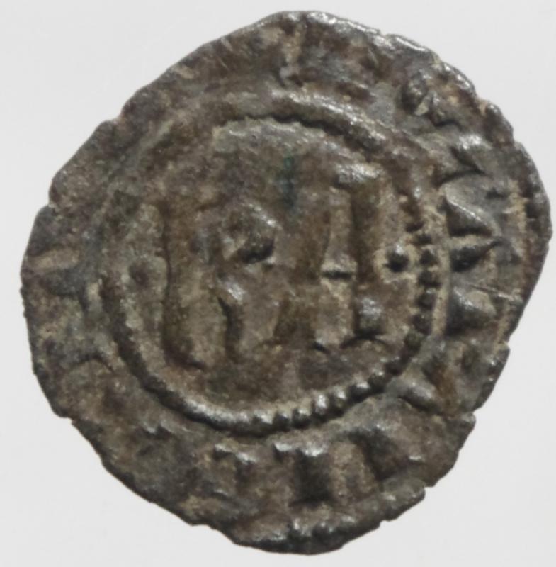 reverse: Zecche Italiane .Messina. Carlo I d  Angi. 1266-1285. Denaro. MI. D/ KA. R/ Croce. Sp.37. Peso 0.75 gr. BB+.