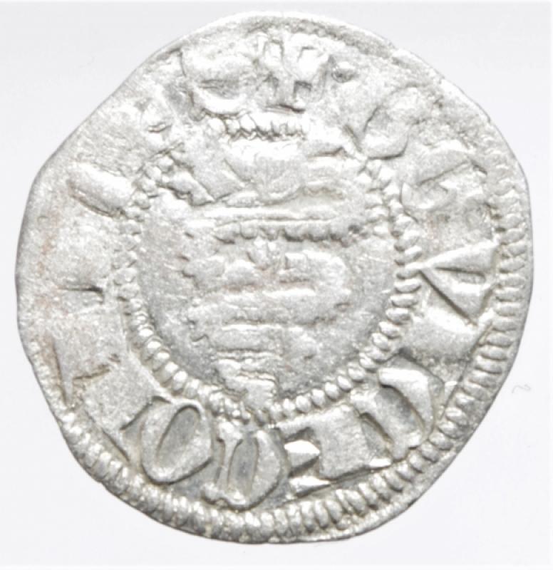 obverse: Zecche Italiane.Milano. Bernab e Galeazzo Visconti (1354-1378). Sesino. D\ Croce patente R\Biscione.Cr. 5. AG. g. 1.00. BB+