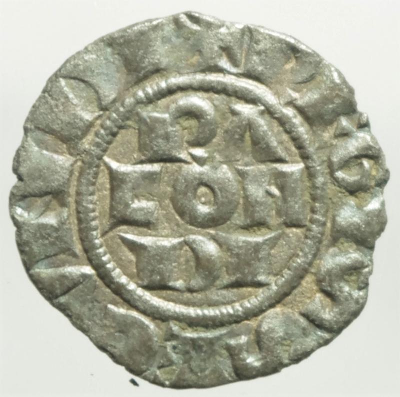obverse: Zecche Italiane. Piacenza. Comune Corrado II. 1140-1313. Mezzano. Peso 0,67 gr. MIR 1108. BB.