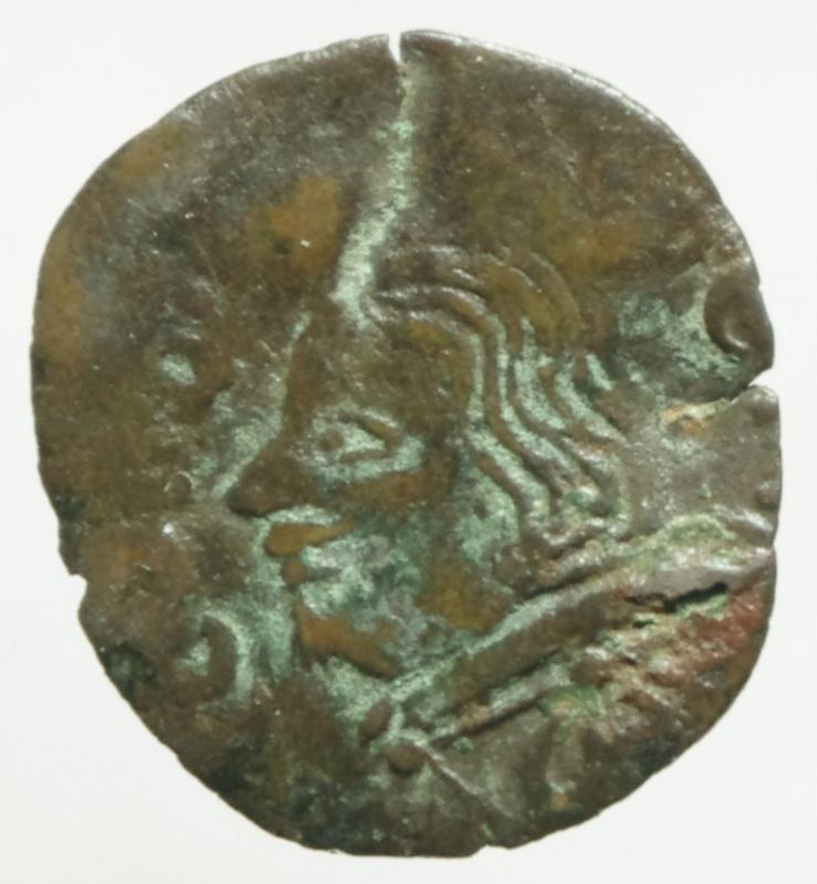 obverse: Zecche Italiane. Piombino. Nicol Ludovisi. 1634-1665. Quattrino. MI. D/ Ritratto a sinistra Cfr.Peso 0,70 gr.MIR 370 \ 3. qMB. R.