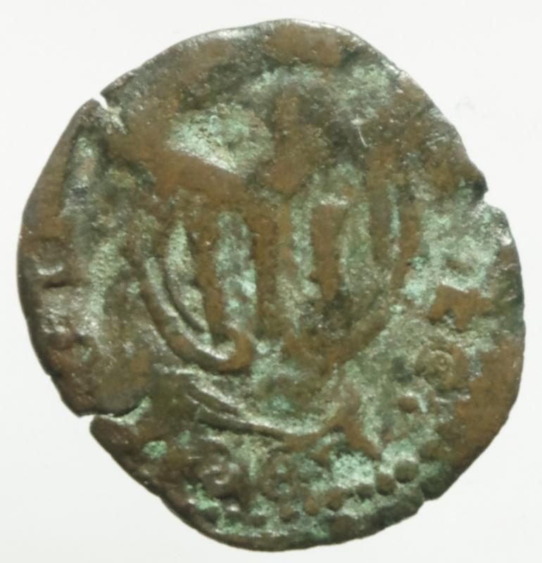 reverse: Zecche Italiane. Piombino. Nicol Ludovisi. 1634-1665. Quattrino. MI. D/ Ritratto a sinistra Cfr.Peso 0,70 gr.MIR 370 \ 3. qMB. R.