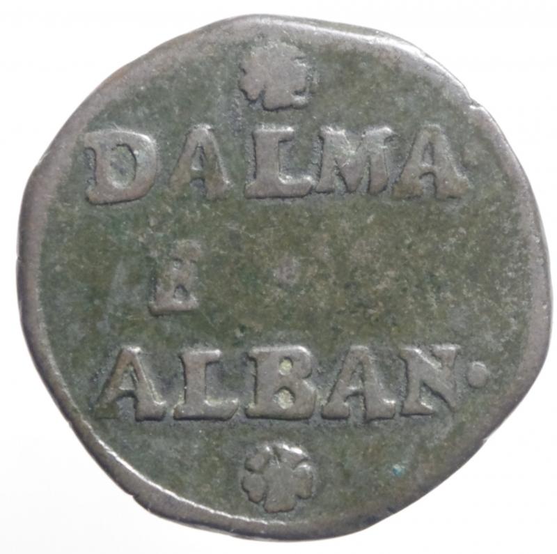 reverse: Zecche Italiane. Venezia. Gazzetta per Dalmazia e Albania. BB