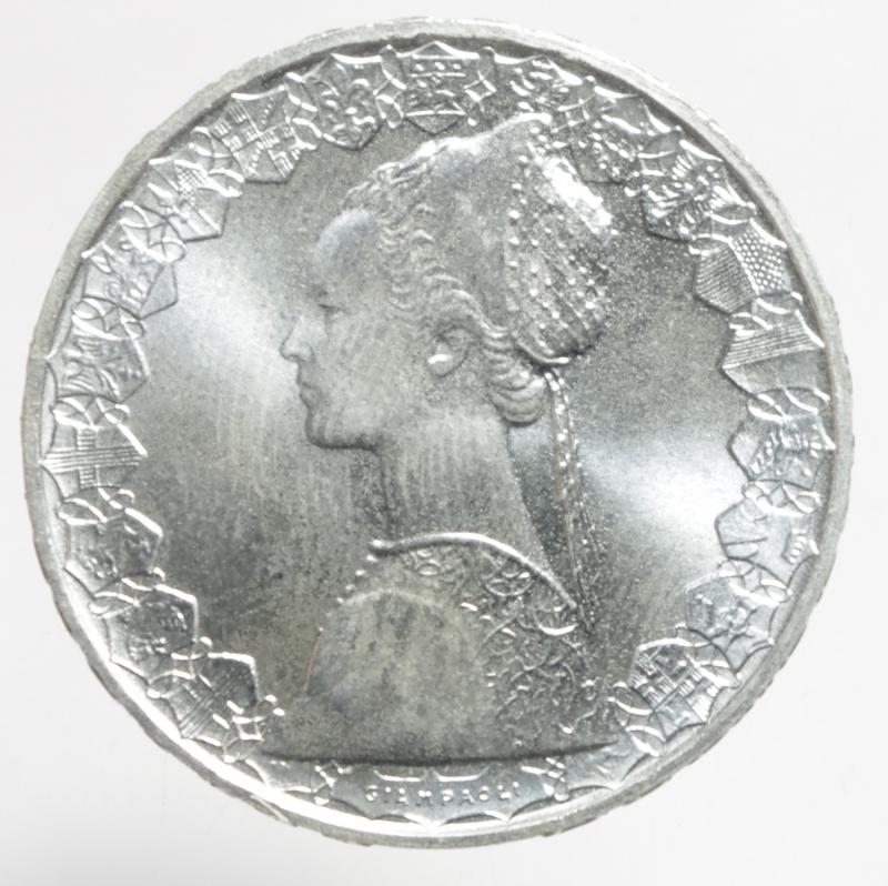 reverse: Repubblica Italiana. 500 lire Caravelle 2001.ag.FDC.ga