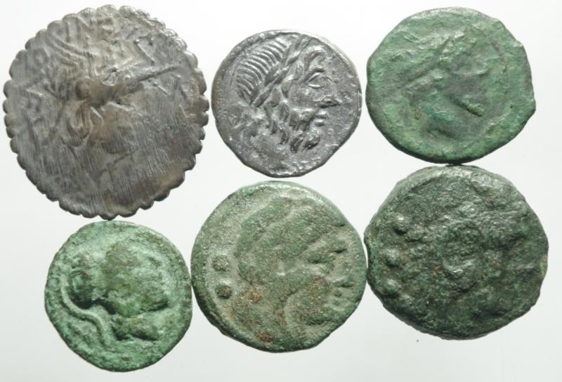 obverse: 6 monete repubblica