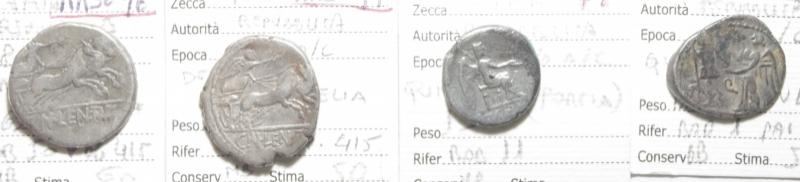 reverse: 4 monete repubblicane