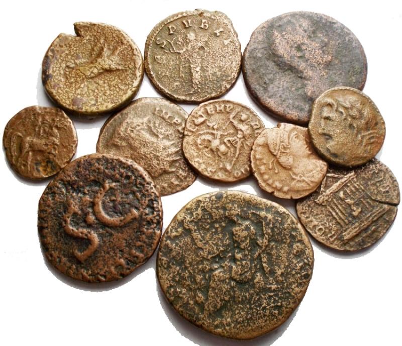 obverse: Lotti - Evo Antico. Insieme di 11 pezzi in Ae