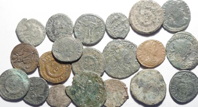 obverse: Lotti.Impero Romano.Lotto di 20 monete del III e IV secolo, mediamente MB\qBB
