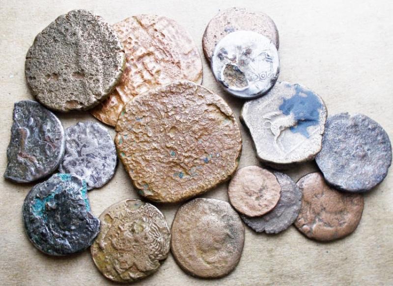 obverse: Lotti - Evo Antico. Insieme di 16 pezzi da studio