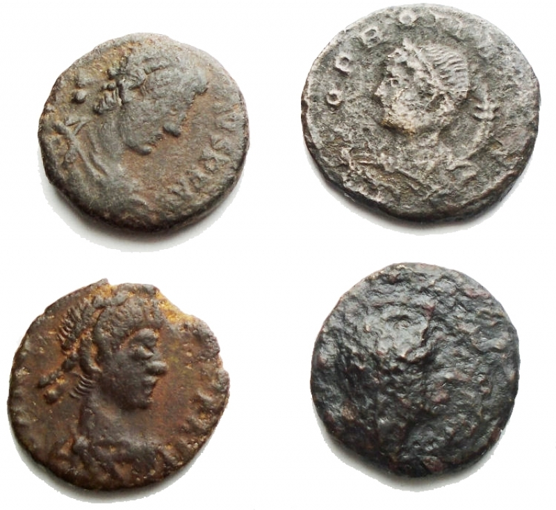 obverse: Lotti - Evo Antico. Insieme di 4 pezzi in Ae