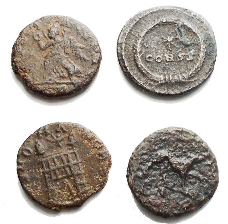 reverse: Lotti - Evo Antico. Insieme di 4 pezzi in Ae