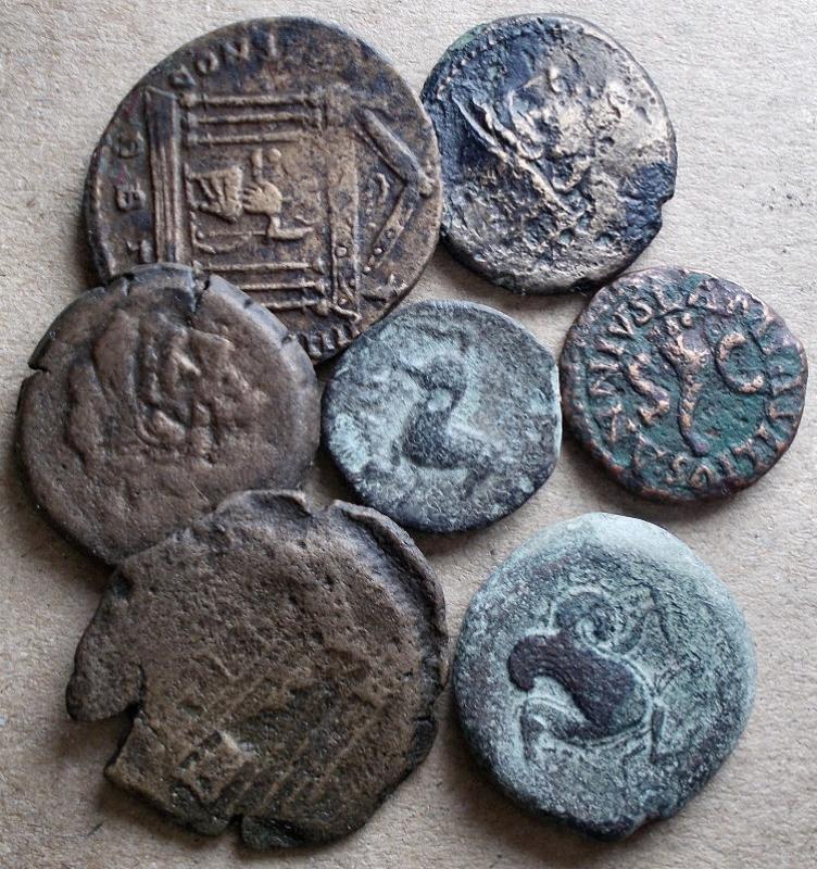 obverse: Lotti - Evo Antico. Insieme di 7 pezzi in Ae