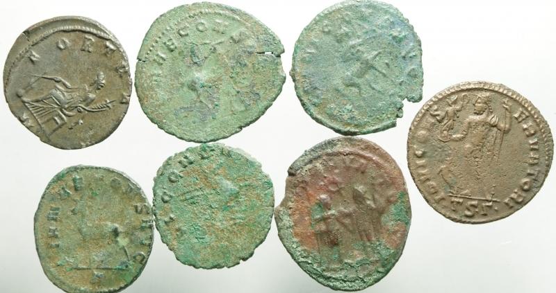 reverse: 7 monete