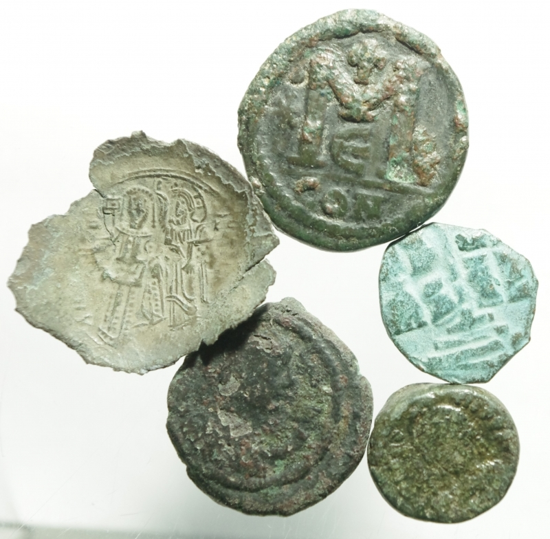 obverse: 5 bizantine