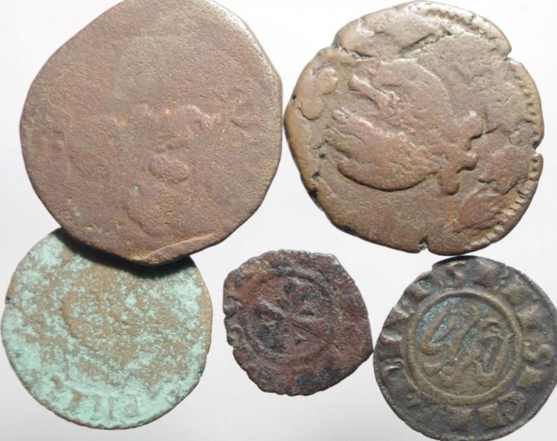 obverse: 5 monete di zecche meridionali