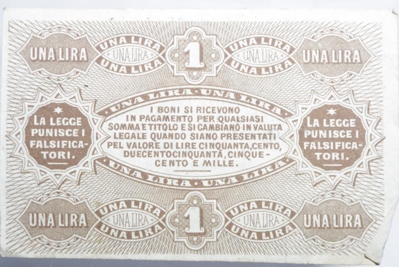 reverse: Banconote. Banca di Romagna Bologna. Biglietto fiduciario da 50 centesimi 01/09/1872. BB+. RR.