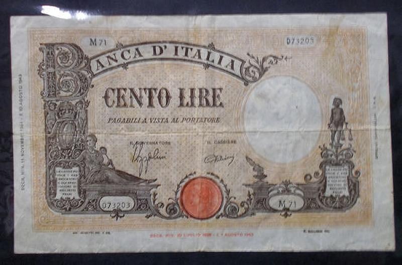 obverse: Cartamoneta - 100 lire Barbetti (5)