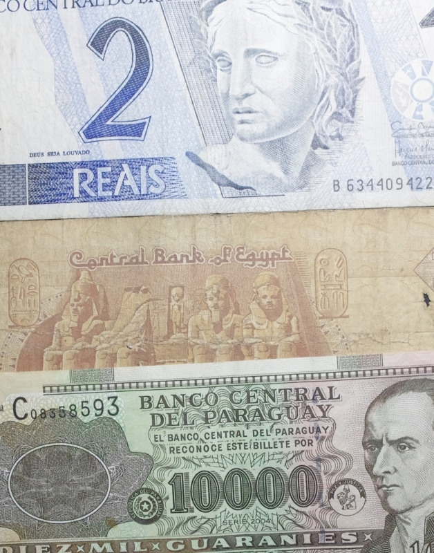 obverse: Cartamoneta.Lotto di banconote sud americane.Conservazione discreta.ga
