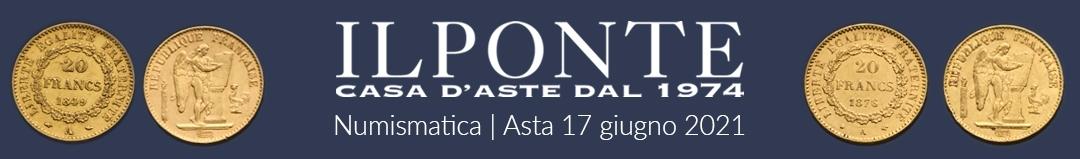 Banner Il Ponte Casa d'Aste - Asta Numismatica