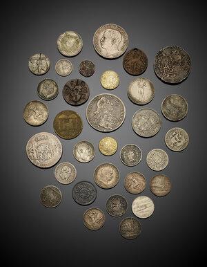 obverse: Miscellanea di monete moderne con buone presenze in argento, di mediocre qualità.