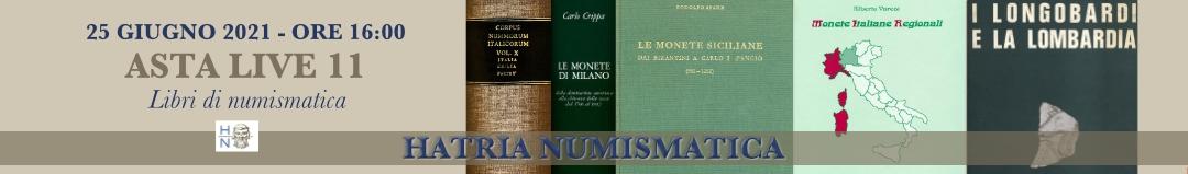 Banner Hatria Numismatica Asta 11