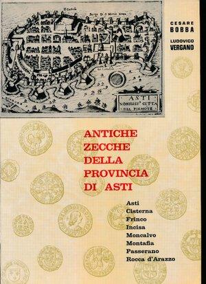 obverse: Bobba Cesare - Antiche zecche della provincia di Asti. 1971. Brossura originale. Ottimo stato.