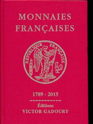 obverse: Gadoury - Monnaies francaises .2015. Ottimo stato.