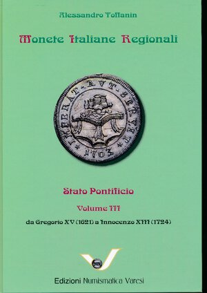 obverse: MIR Monete Italiane Regionali - Volume 15. Alessandro Toffanin -