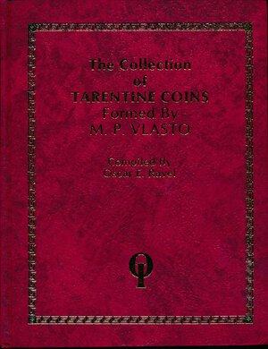obverse: Ravel, O.E. – Vlasto collection of Tarentine coins, 1977, 195 pagine, 53 tavole fotografiche, finta pelle con fregi dorati. NUOVO. Conservazione Eccezionale.