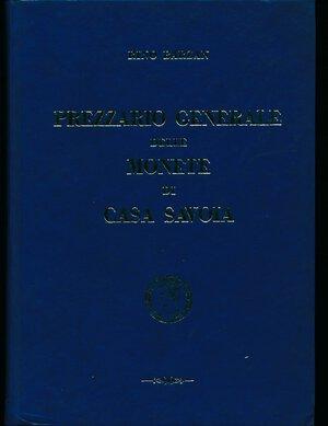obverse: Barzan, R., PREZZIARIO GENERALE DELLE MONETE DI CASA SAVOIA, 1970, 309 pagine, finta pelle, ottime condizioni