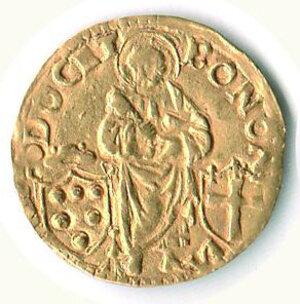 obverse: BOLOGNA - Leone X (1513-1521) - Ducato in Oro