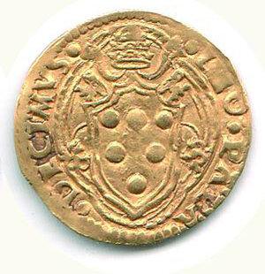 reverse: BOLOGNA - Leone X (1513-1521) - Ducato in Oro