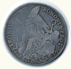 obverse: BOLOGNA - Pio VI (1775-1799) - Mezzo Scudo 1778