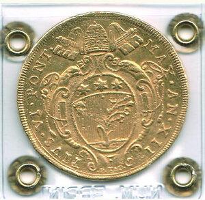 reverse: BOLOGNA - Pio VI (1775-1799) - 10 Zecchini 1786
