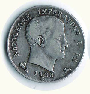 obverse: BOLOGNA -  Napoleone - Lira 1808 - Gigante 149/b.