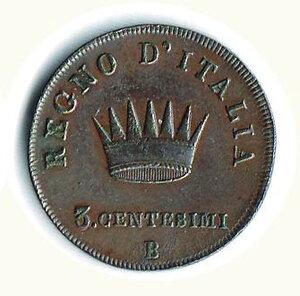 reverse: BOLOGNA - Napoleone - 3 Cent. 1810.
